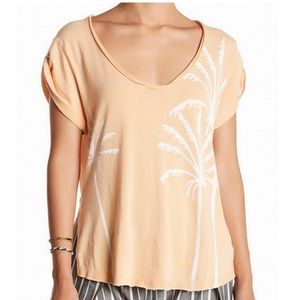 NWT We The Free distressed palm tree T-shirt